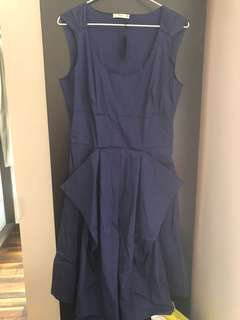 Prada Navy Blue One Piece Dress - New with Tag