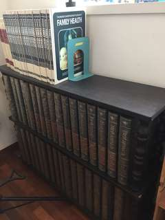 Encyclopedia Britanica. Plus 4 books on Medical and 24 books on Family health