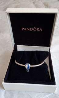 🚚 Pandora 藍白塘瓷熱氣球墜子加手環 16cm