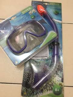Intex snorkeling set