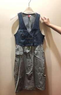 H&M 牛仔裙