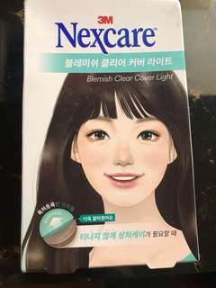 Nexcare Blemish Clear Cover Light 26pcs