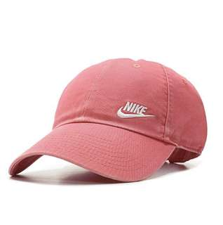 From🇬🇧🇺🇸 Nike cap 刺繡logo hat hot pink (現貨)
