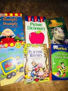 Children's books six pcs