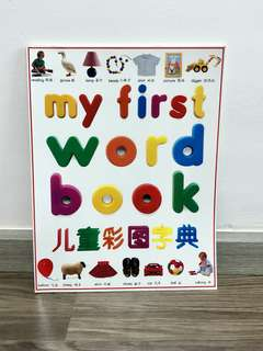 My First Word Book 儿童彩图字典