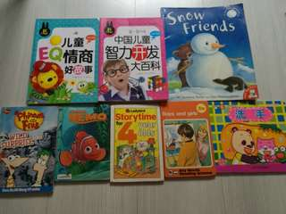 All in $10, 13 story books