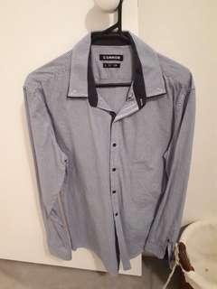 Never worn slim long sleeve shirt