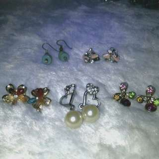 Earrings set F