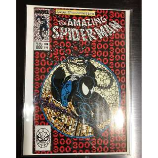 AMAZING SPIDER-MAN #800 SHATTERED VARIANT MCFARLANE HOMAGE VENOM NM *IN STOCK