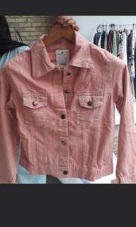 jacket jeans pink