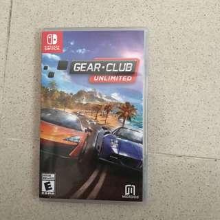 Gear club Nintendo switch