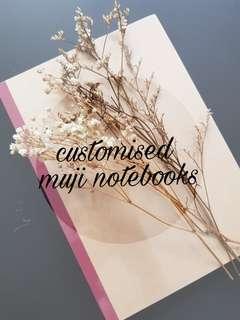 [CUSTOMISE] Muji Notebooks