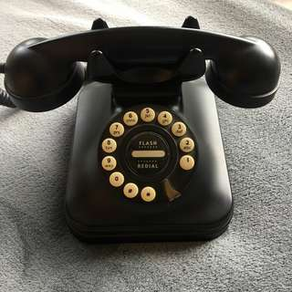 Vintage Look Telephone Push Button