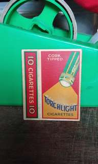Torchlight cigarettes box