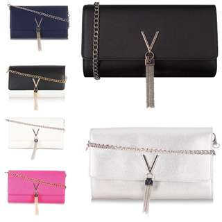 Valentino by Mario Should bag/ cross body/ clutch chain bag