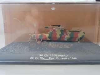Combat Tanks - Sd.Kfz. 251/9 Ausf. D. 20. Pz.Div. East Prussia - 1944. 1:72.