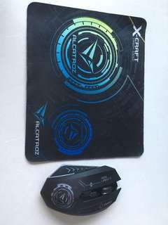 Alcatroz Mouse and pad