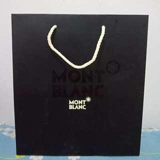 Paperbag montblanc