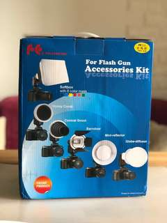 Flash Gun Accessories Kits