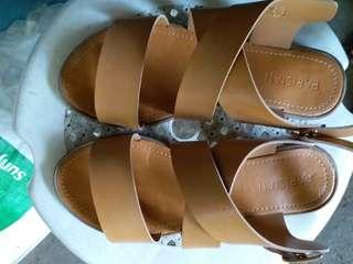 Parisian Tan Sandals