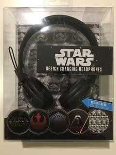 BNIB Star Wars Design Changing Headphones