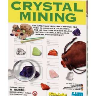 4M Crystal Minerals Science Experiment Mining Educational Toy