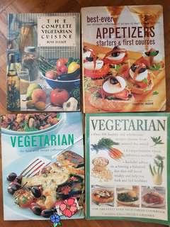 Cookbooks- Vegetarian