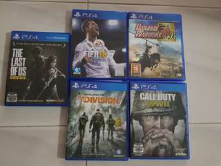 Bundle Playstation 4 used games