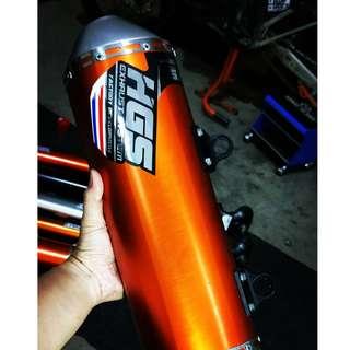 HGS Slip - on KTM 250 EXC-F / 350 EXC - F / 250sxf
