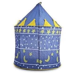 Portable Folding Kids Play Tent Castle (Blue)