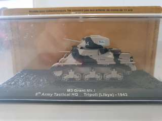 Combat Tanks - M3 Grant Mk.I. 8th Army Tactical HQ. Tripoli (Libya) - 1943. 1:72.