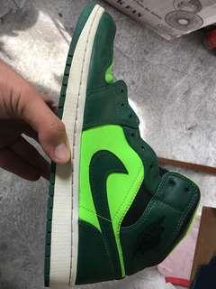 """Air jordan 1 """"neon green"""""""