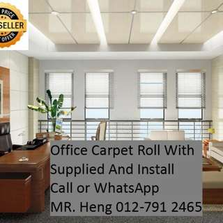 Bandar Puteri Puchong Office Carpet Roll Call Mr. Heng 012-7912465
