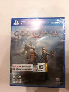 PS4 GOD OF WAR (NEW & SEALED)