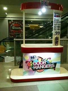 Booth cart