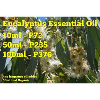 Eucalyptus Essential Oil (Pure Organic Oil Extract) - CRTFD