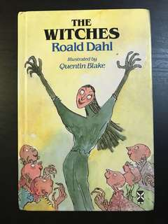 Roald Dahl - The Witches (Hardcover)