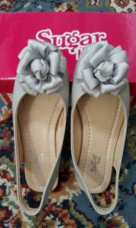 Sugar kids light gray sandals