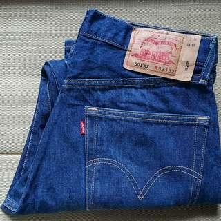 Levi's 501XX W33 L32 Blue Regular Jeans 牛仔褲