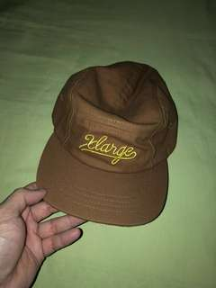 X-Large Script 5-Panel Hat