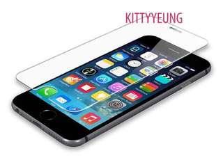 iPhone (4.7) / iPhone (5.5) / iPhone X 玻璃mon貼 $15