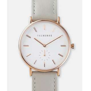 The Classic Watch by The Horse - Rose Gold & Grey