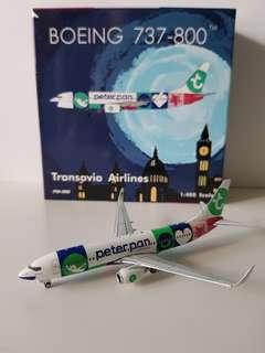 B737-800 Transavia Airline Peter Pan Livery Scale 1:400