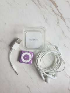 iPod Shuffle Pink + FREE Samsung Earphones
