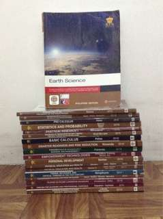 Grade 11 SHS Textbooks