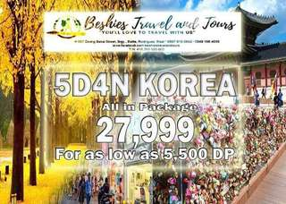 Travel Vacation in Seoul Korea Autumn package