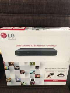 LG 3D Blu Ray Player