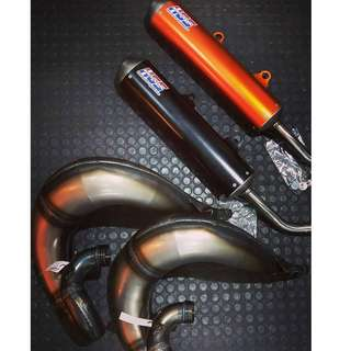 HGS Exhaust 2 stroke