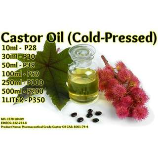 Castor Oil (Cold-Pressed) - Certified Organic