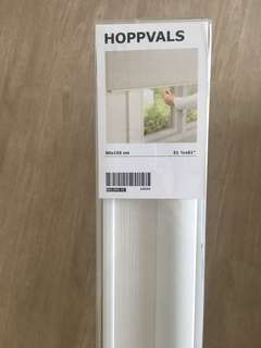 Ikea Hoppvals White Blinds